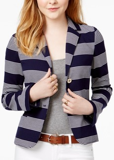 Tommy Hilfiger Rugby Striped Blazer, Only at Macy's