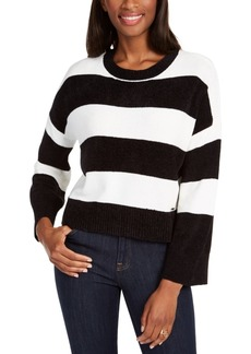 Tommy Hilfiger Rugby-Striped Chenille Sweater