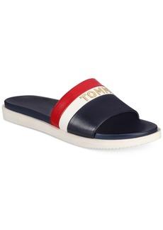 3382c68c9073 Tommy Hilfiger Tommy Hilfiger Katz Block-Heel Dress Sandals Women s ...