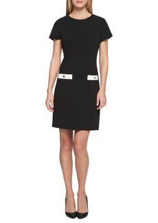 Tommy Hilfiger Scuba Crepe Pocket Dress