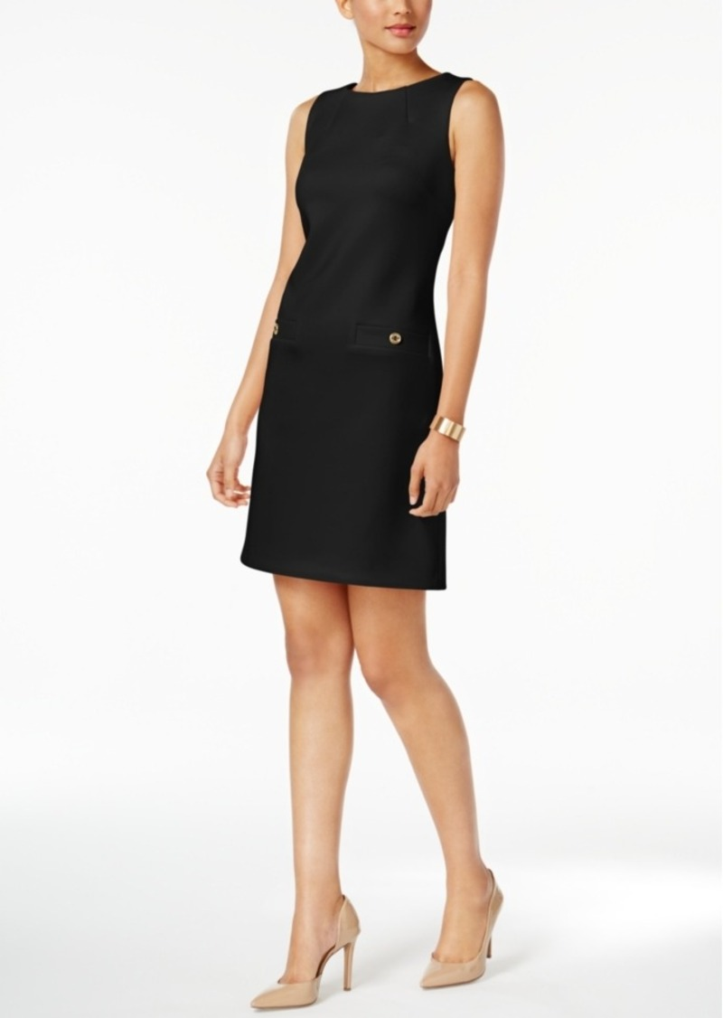 Scuba Sheath Dress Tommy Hilfiger