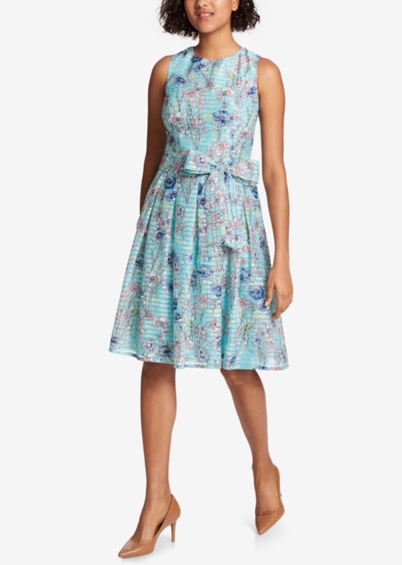 d91adb923260 Tommy Hilfiger Tommy Hilfiger Shadow-Stripe Fit & Flare Dress | Dresses