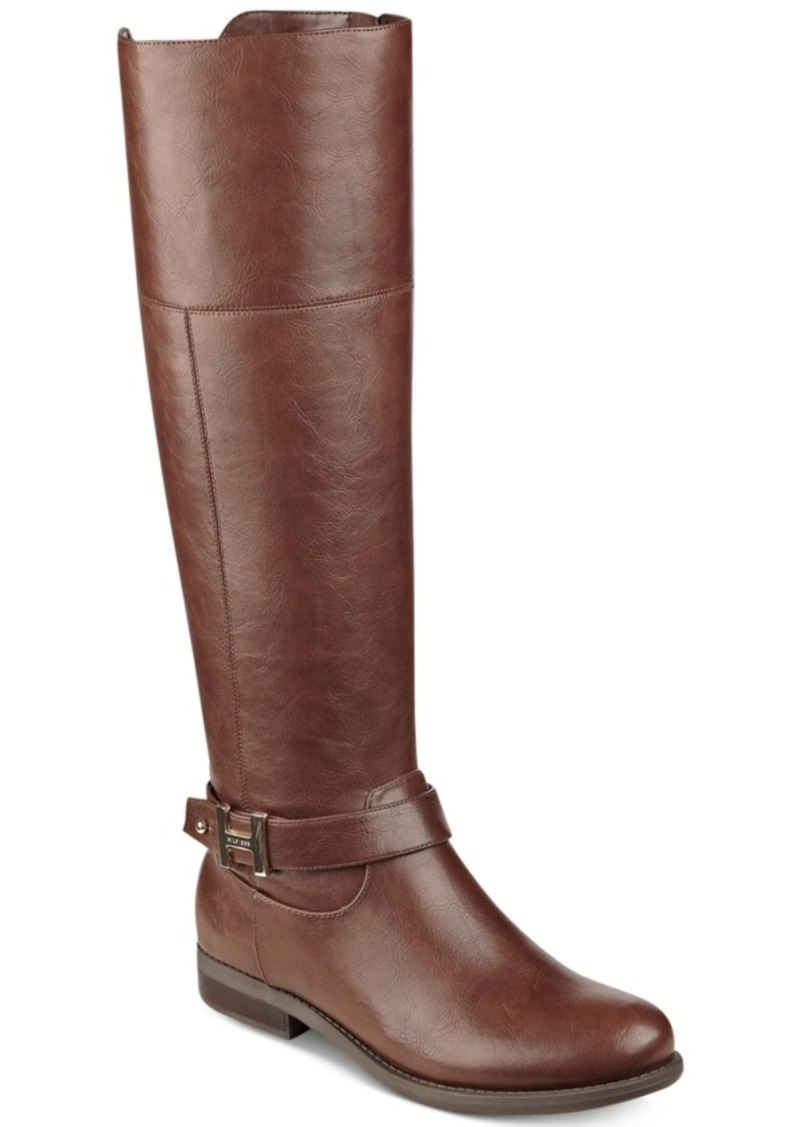 Tommy Hilfiger Shahar Wide-Calf Riding Boots Women's Shoes