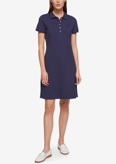 Tommy Hilfiger Short-Sleeve Polo Dress, Only at Macy's