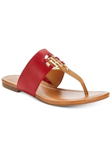 Tommy Hilfiger Sia Slip-On Thong Sandals Women's Shoes