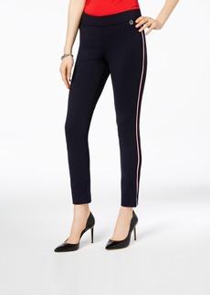 Tommy Hilfiger Side-Stripe Skinny Ponte Pants