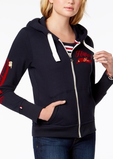 Tommy Hilfiger Signature Zip-Front Hoodie, Created for Macy's