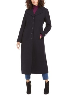 Tommy Hilfiger Single-Breasted Maxi Coat