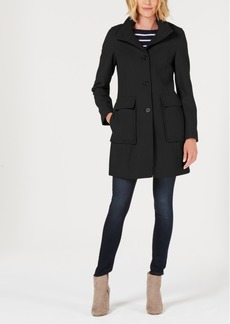 Tommy Hilfiger Single-Breasted Walker Coat