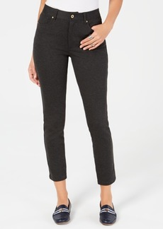 Tommy Hilfiger Skinny Five-Pocket Ponte Pants, Created for Macy's