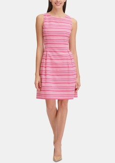 Tommy Hilfiger Sleeveless Infinity-Stripe Dress