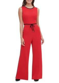 Tommy Hilfiger Sleeveless Wide-Leg Jumpsuit