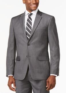Tommy Hilfiger Solid Grey Modern-Fit Jacket