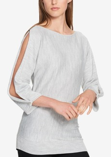 Tommy Hilfiger Split-Sleeve Sweater, Created for Macy's