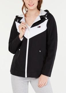 Tommy Hilfiger Sport Chevron Colorblocked Jacket