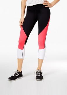 Tommy Hilfiger Sport Colorblocked Cropped Leggings, A Macy's Exclusive