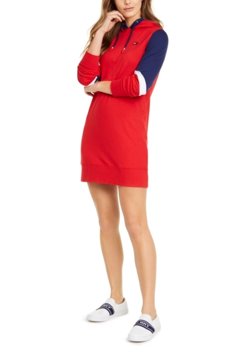 Tommy Hilfiger Sport Colorblocked Hoodie Dress