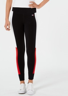 Tommy Hilfiger Sport Colorblocked Logo Leggings, Created for Macy's