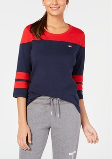 Tommy Hilfiger Sport Colorblocked Top, Created for Macy's