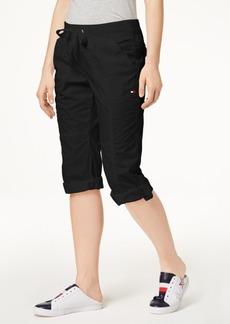 Tommy Hilfiger Sport Cotton Drawstring Capri Pants