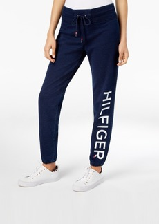 Tommy Hilfiger Sport Cotton Slim-Fit Logo Sweatpants, Created for Macy's