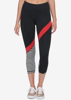 Tommy Hilfiger Sport Cropped Colorblocked Leggings, Created for Macy's