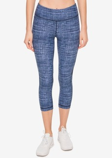 Tommy Hilfiger Sport Cropped Illusion-Detail Leggings, a Macy's Exclusive