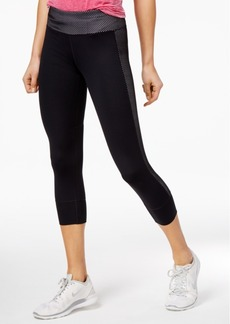 Tommy Hilfiger Sport Cropped Mesh-Contrast Leggings, a Macy's Exclusive Style