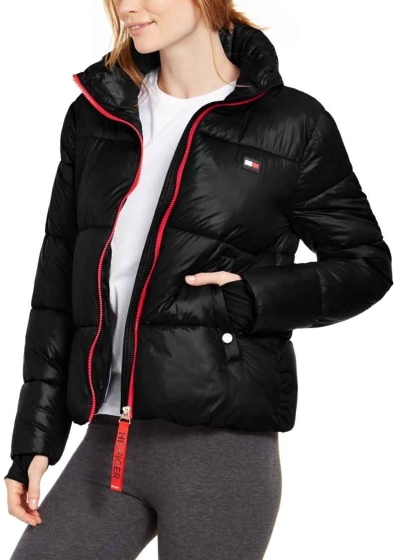 Tommy Hilfiger Sport Cropped Puffer Jacket