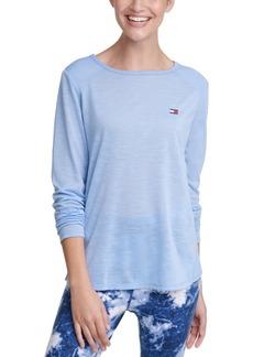 Tommy Hilfiger Sport Cutout Contrast T-Shirt