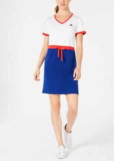 Tommy Hilfiger Sport Drawstring T-Shirt Dress