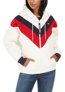 Tommy Hilfiger Sport Faux-Sherpa Colorblocked Jacket