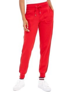 Tommy Hilfiger Sport Fleece Varsity-Stripe Joggers