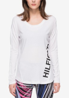 Tommy Hilfiger Sport Graphic Contrast Top, a Macy's Exclusive Style