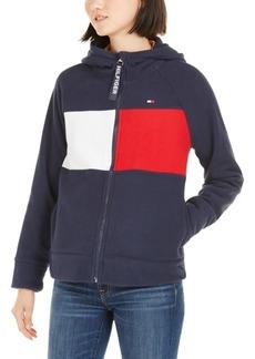 Tommy Hilfiger Sport Hooded Fleece Colorblocked Jacket