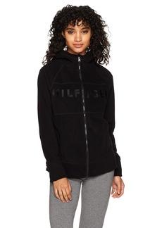 Tommy Hilfiger Sport Junior's Embroided Logo Hooded Jacket