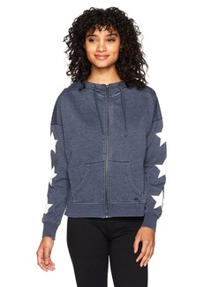 Tommy Hilfiger Sport Junior's Fleece Star Printed Drop Shoulder Hoodie  LARGE