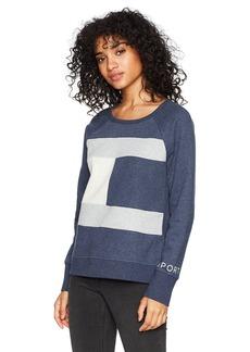 Tommy Hilfiger Sport Junior's Logo Pieced Crewneck Sweatshirt