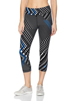 Tommy Hilfiger Sport Junior's Triangulation Print Mid Rise Crop Tight