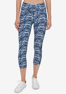 Tommy Hilfiger Sport Kaleidescope Cropped Leggings, a Macy's Exclusive Style