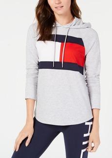 Tommy Hilfiger Sport Logo Hooded Sweatshirt