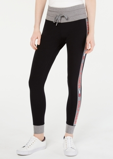 Tommy Hilfiger Sport Logo-Stripe Jogger Pants
