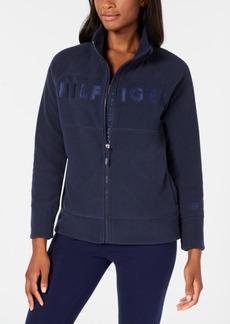 Tommy Hilfiger Sport Logo Zip-Front Sweatshirt, Created for Macy's