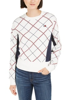 Tommy Hilfiger Sport Plaid Sweatshirt