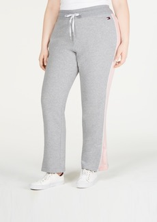 Tommy Hilfiger Sport Plus Size Side-Stripe Sweatpants