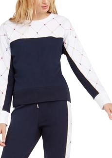 Tommy Hilfiger Sport Printed Crewneck Sweatshirt