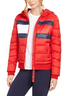 Tommy Hilfiger Sport Quilted Colorblocked Jacket
