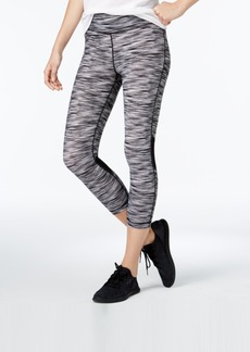 Tommy Hilfiger Sport Space-Dyed Cropped Leggings, A Macy's Exclusive Style