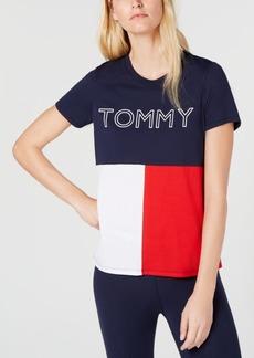 Tommy Hilfiger Sport Stenciled Logo T-Shirt