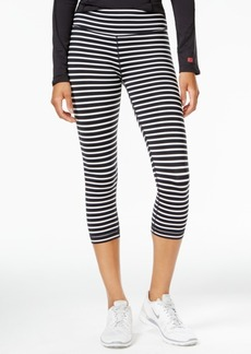Tommy Hilfiger Sport Striped Cropped Leggings, A Macy's Exclusive